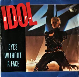 "Billy Idol ‎- Eyes Without A Face (7"") (VG-/G-)"